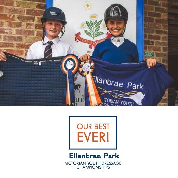 Wrap up of Victorian Youth Dressage Championships 2019