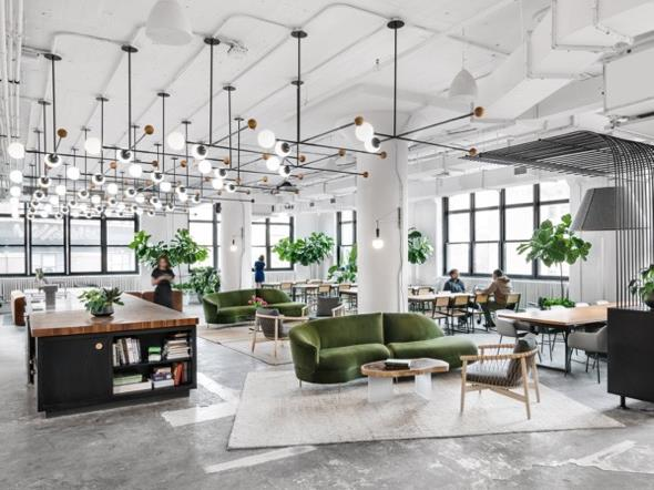 Office Spaces are Looking More and More Like High-Style Homes