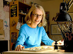Roz Chast, cartoonist and author of Can We Talk About Something More Pleasant?