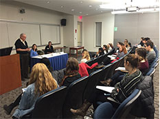 Psi Chi forums help student navigate their future career paths.