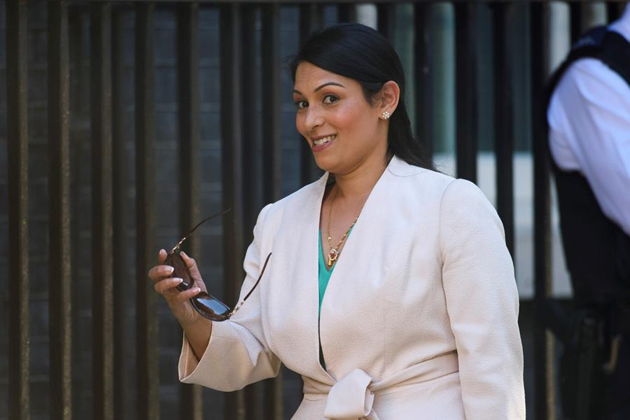 Theresa May accused of covering up secret Priti Patel meetings