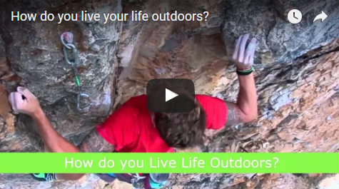 """How do you live your life outdoors? (Pages)"