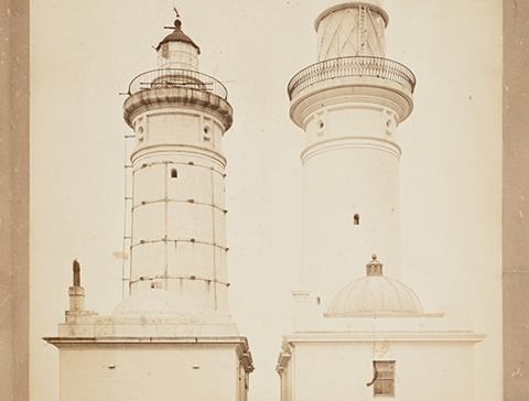 Twin Macquarie lighthouses