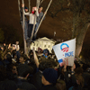 Student celebrate outside the White House in 2012