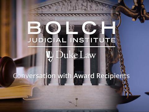 Virtual Bolch Prize Ceremony