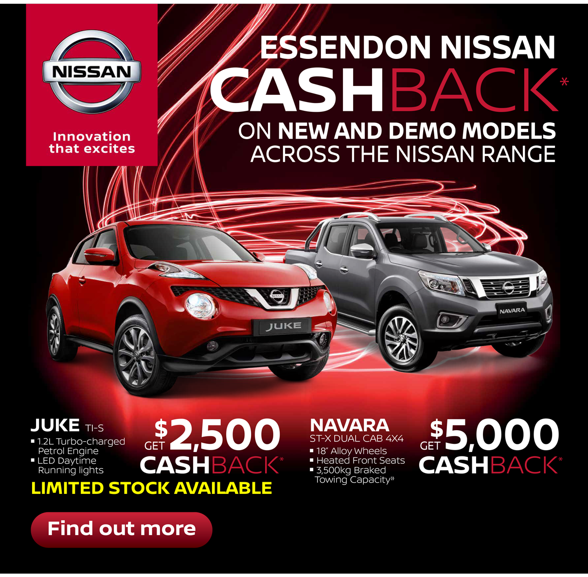 Nissan hot deals now on!