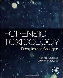 Forensic Toxicology: Principles and Concepts by Professor Nick Lappas book jacket