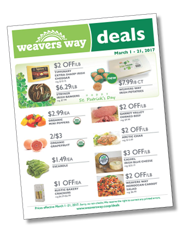 Weavers Way Deals