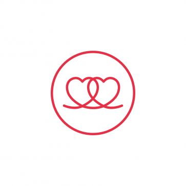 Two Hearts FEI logo