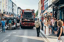 Image of a bustling street