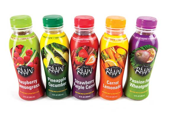 Raaw juices