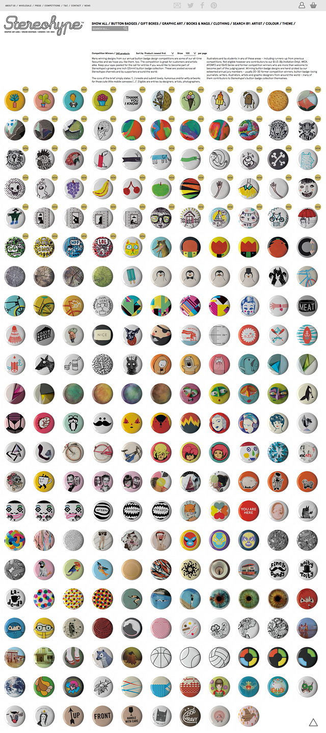 Badge Competition Winners since 2004