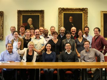 WLT staff and project partners at 25th Anniversary Symposium. © McCluskey International.