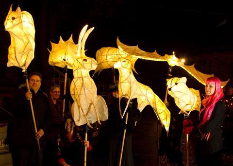 Light up animals in Holt