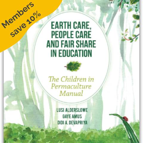 Children in permaculture manual