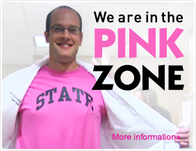 We are in the Pink Zone.