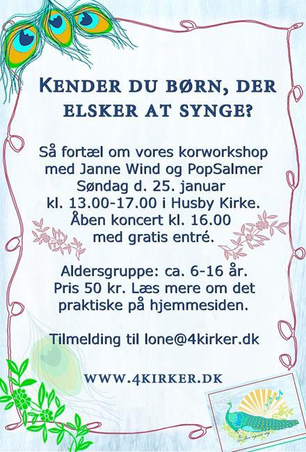 Workshop på Vestfyn for børn
