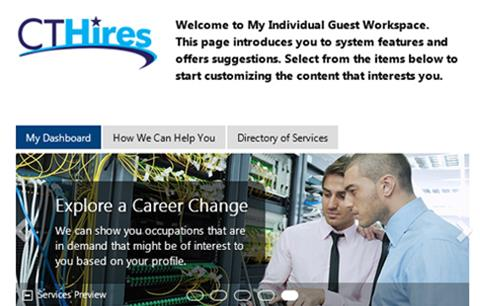 Find a Job on CTHires