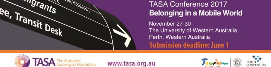 TASA Conference 2017, Perth