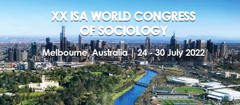Save the date: XX ISA World Congress of Sociology, Melbourne, 2022