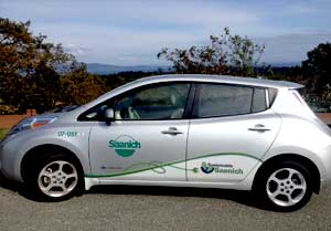 Saanich Electric Fleet Vehicle