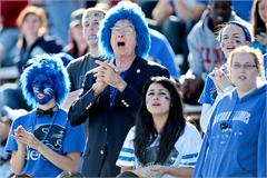 Photos from the 95th Homecoming Game Saturday, Oct. 22, 2011, in O&#39;Brien Stadium on the Eastern Illinois University campus in Charleston, Ill. (STEPHEN HAAS)