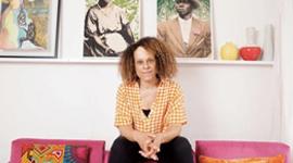 Bernardine Evaristo. Photo credit: Karen Robinson/The Observer