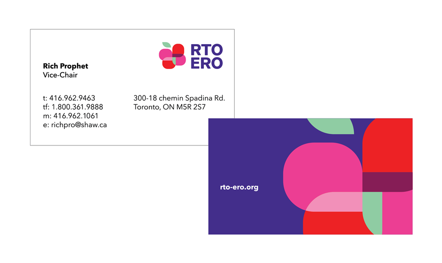 RTO business cards.