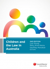 Cashmore, J & Horsfall B (2016) 'Child Maltreatment' in L. Young, M.A. Kenny and G. Monahan, Children and the Law in Australia (2nd ed.), Chatswood: LexisNexus Butterworths. https://store.lexisnexis.com.au/product?9780409342024
