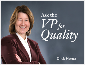 Ask the VP of Quality