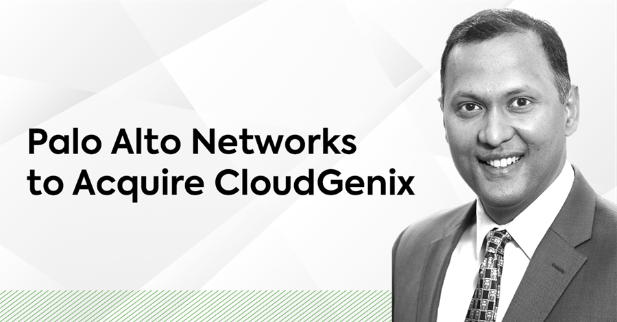 Palo Alto Networks to Acquire CloudGenix