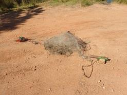 Set net used illegally