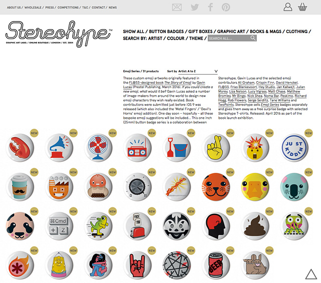 31 emoji button badges by 21 talents