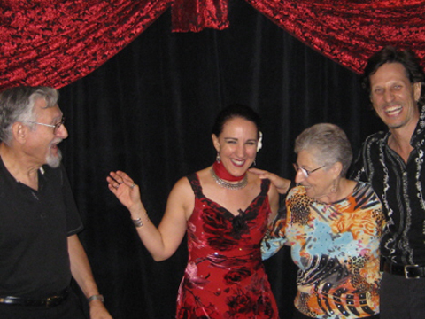 Dean of the Society of American Magicians' George & Nina Schindler visit Carnival of Illusion in Tucson