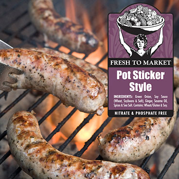 Potsticker Sausages