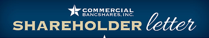 Commercial State Bank | Shareholder Letter
