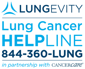LUNGevity's Lung Cancer HELPLine