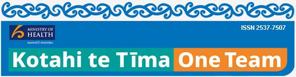 Kotahi te Tima - Ministry of Health banner