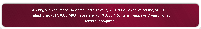 Contact AUASB