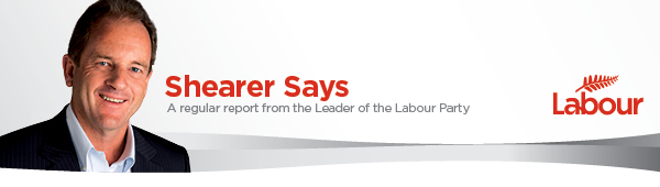 David Shearer - Labour Leader