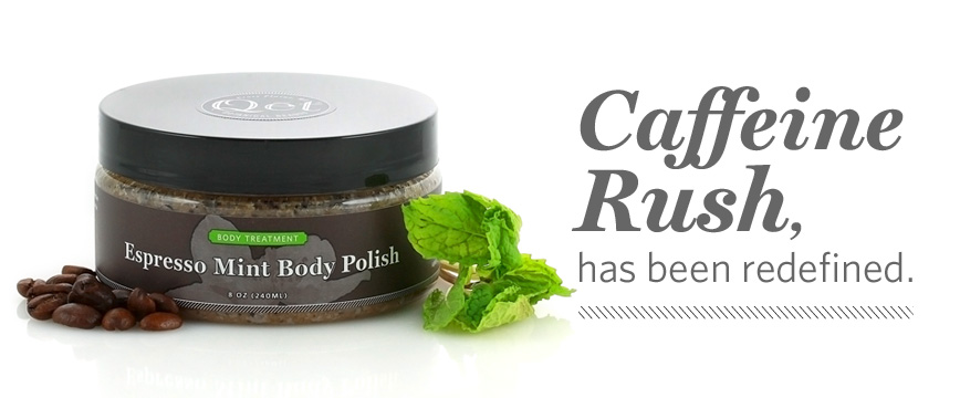 Qēt Botanicals Expresso mint body polish