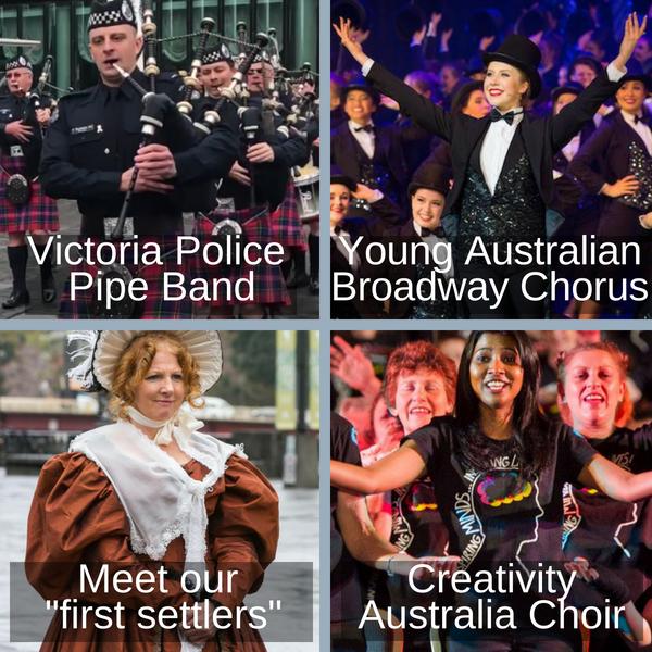 Melbourne Day celebrations