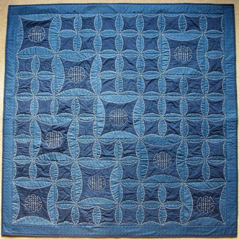 Sashiko Delight ​(Instant Download) by Lesley Brankin