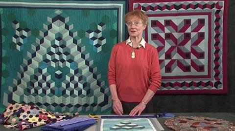 Tumbling blocks with Jennie Rayment
