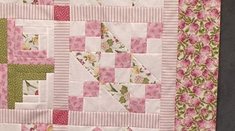 Prairie Queen and Jacobs Ladder - Block 5 of Your First Sampler Quilt