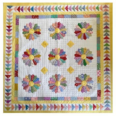 Dresden Plate quilt pattern by Sallieann Harrison (download)