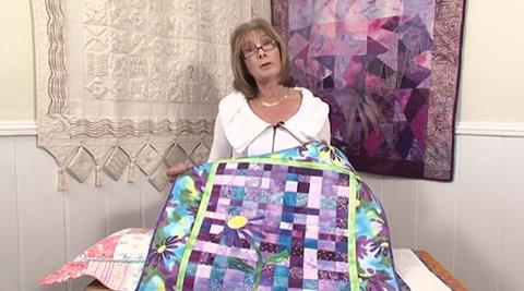Patchwork As A Background with Valerie Nesbitt