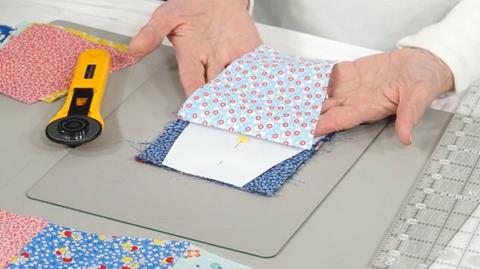 How to cut and sew Tumbler Shapes with Valerie Nesbitt