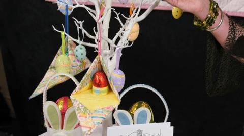 Easter boxes and Fabric