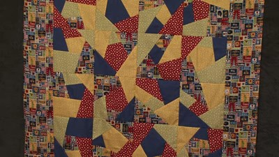 Crazy Patchwork with Valerie Nesbitt
